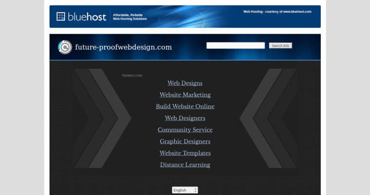 Future Proof Web Design Contact Page