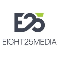 Leading Online Marketing Company Logo: EIGHT25MEDIA