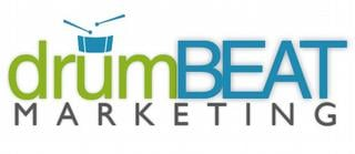 Leading Online Marketing Agency Logo: drumBeat Marketing