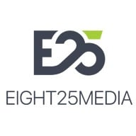 Top SEO Company Logo: EIGHT25MEDIA