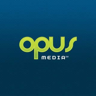 Best Baltimore SEO Firm Logo: Opus Media