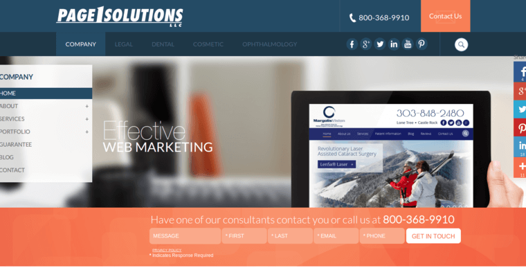 Page 1 Solutions | Best Dental SEO Companies | 10 Best SEO