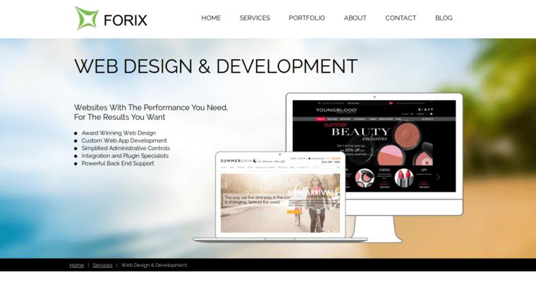 Forix web design best enterprise seo agencies for Best home remodeling websites