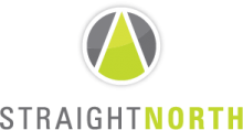 Best Global Online Marketing Business Logo: Straight North
