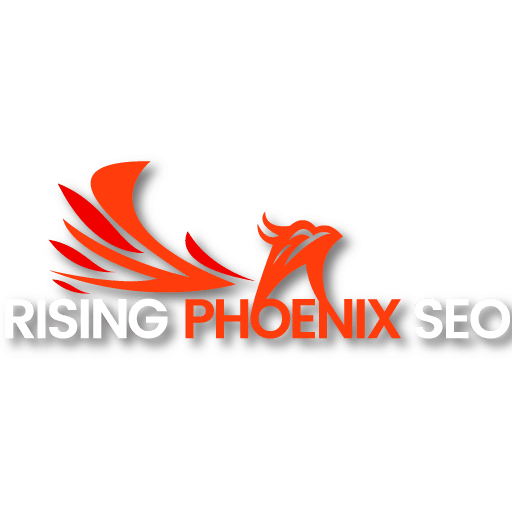 Top Search Engine Optimization Firm Logo: Rising Phoenix SEO