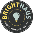 Best San Diego SEO Business Logo: Brighthaus