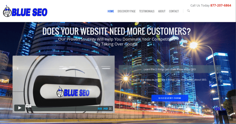 Home Page of Top Web Design Firms in California: BlueSEO