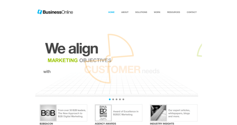 Home Page of Top Web Design Firms in California: Business Online