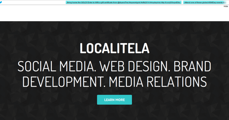 About Page of Top Web Design Firms in California: Localite LA