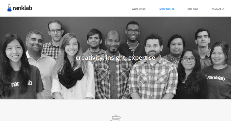 About Page of Top Web Design Firms in California: RankLab