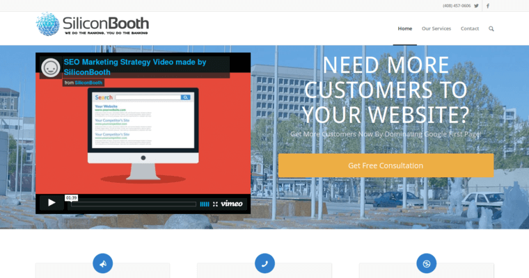 Home Page of Top Web Design Firms in California: SiliconBooth