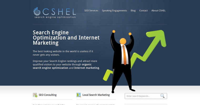 Home Page of Top Web Design Firms in Illinois: Cshel