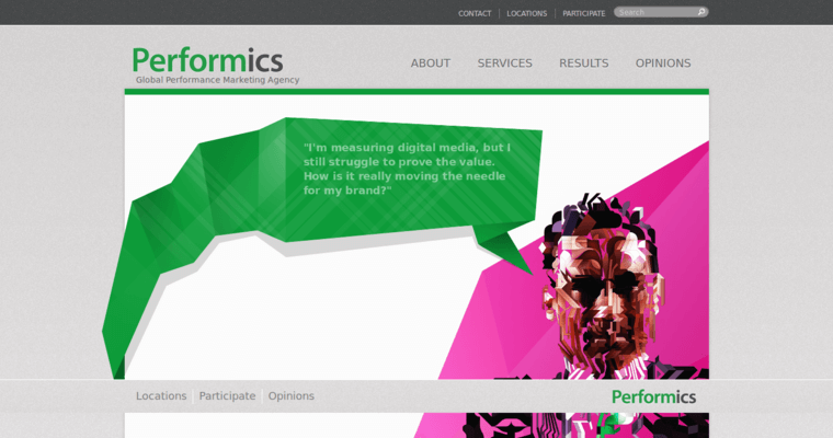 Home Page of Top Web Design Firms in Illinois: Performics